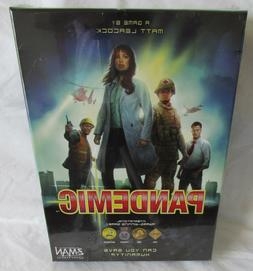 new sealed pandemic board game cooperative award
