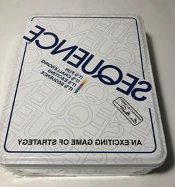 New! Sealed! Sequence Board Game - In Storage Tin - Jax - 19