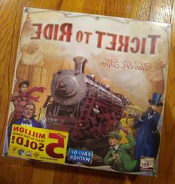 New Sealed Days of Wonder Ticket To Ride Alan R. Moon Train