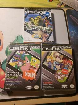 New Shrek 2, Nicktoons Volume 2, & All Grown Up Volume 1 SEA