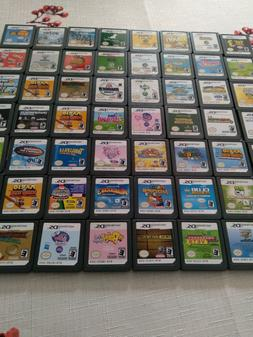 *TESTED & WORKING* Nintendo DS video games lot, multiple tit