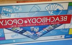"BEACHBODY OPOLY ""Monopoly Type"" Board Game Fitness Goals Coa"