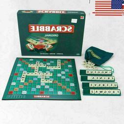 Original Scrabble Board Game Family Kids Adults Educational