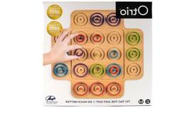 Otrio Board Game Puzzle Brainy Challenge Compete Head to Hea