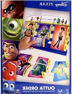 Disney pixar OUTTA ORDER - The Game Of Mixed- Up Characters