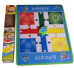Parchis Ludo Board Game Gift for Preschoolers Beginners Larg