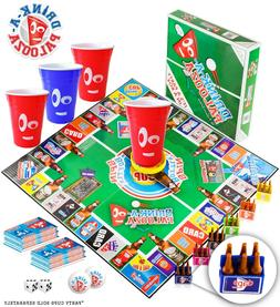 DRINK-A-PALOOZA Party Gifts for him: Drinking Game Fun Board