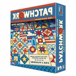 Patchwork Americana Edition Board Game Lookout Games Uwe Ros