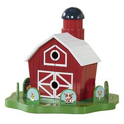 Educational Insights Peekaboo Barn Push & Spin Game Promotes