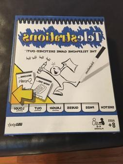 USAopoly PG000396 Telestrations Original 6 Player Board Game