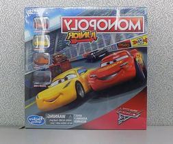 Disney Pixar Cars 3 Monopoly Jr- Lightning McQueen, Cruz, Sm
