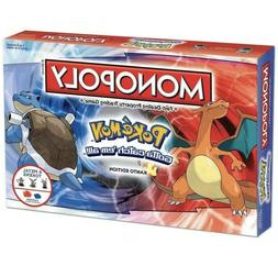 Pokemon Monopoly Board Game- Family & Friends & Holiday Boar