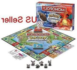 Pokemon Kanto Region Collectors Edition Family Board Monopol