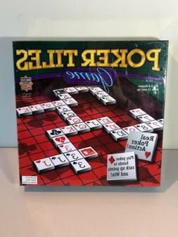 Poker Tiles Board Game 2005 MasterPieces Puzzle Co. **New &