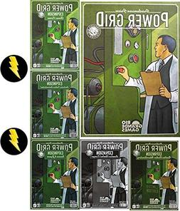 Power Grid Game Bundle of Base Game plus Five Expansions and