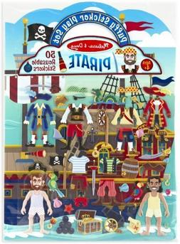Puffy Sticker Play Set for Kids - Pirates