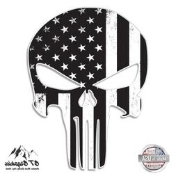 "Punisher Skull Subdued American Flag Tactical - 20"" - Large"