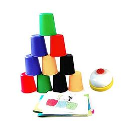 YUIOP Quick Stack Cups, Sport Stacking Set Board Speed Cups