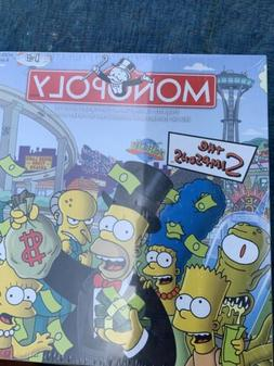 Rare New The Simpsons Monopoly Board Game USAopoly 2007