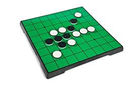 Reversi Game Set with Magnetic Folding Board 10 X 10 Inches