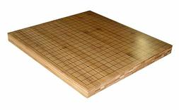 "3/4"" Reversible Solid Bamboo 19X19 Go Game and 13x13 Quick G"