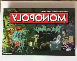 RICK AND MORTY EDITION MONOPOLY BOARD GAME SIGNED AND SKETCH
