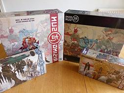 Rising Sun Board Game + 3 Expansions Bundle with the Kami Un