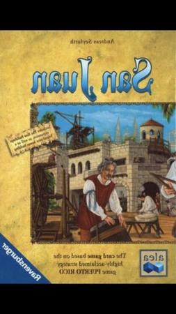 San Juan Card Board Game Includes New Buildings Expansion Br
