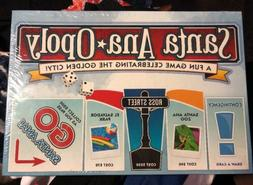 santa ana opoly board game a city