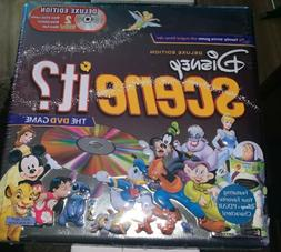 Disney Scene It Deluxe Edition DVD Board Game Collectible Ti