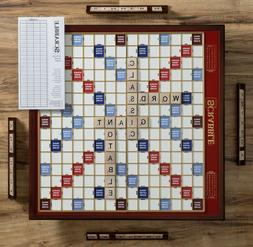 Winning Solutions Scrabble Giant Deluxe Edition Wooden Board