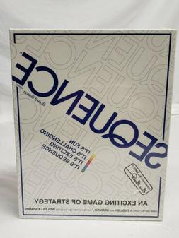 SEQUENCE BOARD GAME - 1995 Jax 8002  brand new sealed family