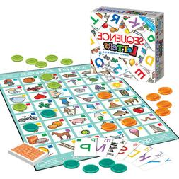 Sequence Letters Kids Educational Board Game Alphabet Learni