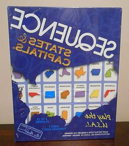 Sequence States and Capitals Board Game Brand New SEALED Jax