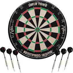 Viper Shot King Regulation Bristle Steel Tip Dartboard Set w