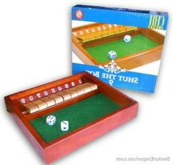 Shut the Box Game - Wooden by CHH