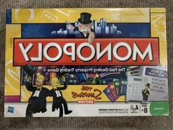 THE SIMPSONS Edition Electronic MONOPOLY Board Game NEW Seal