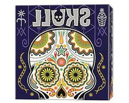 skull game by card board party game