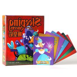 Sleeping Queens Card Game Board Games Educational Toy Family