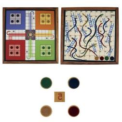 Fathers Day Gifts!! 2 in 1 Game Snake Ladder and Ludo Set on