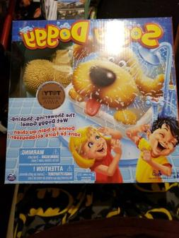 Soggy Doggy Board Game for Kids with Interactive Dog toy of