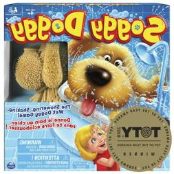 Soggy Doggy Board Game Interactive Showering Shaking Dog Bat
