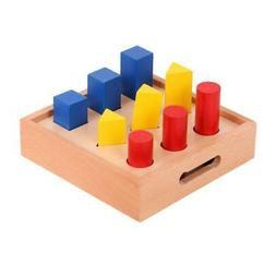 Sorter Geometric Block Puzzle Board Games for Kids Baby Pres