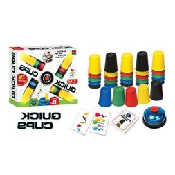 Spin Master Games Quick Cups Speed Color Matching Beat The B