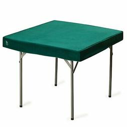 Square Table Cover for Card Games, Mahjong, Dominos, Board G