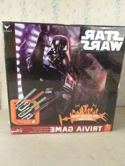 Star Wars Trivia Board Game 650 Questions Lightsaber Puzzles