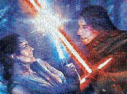 Star Wars - Photomosiac - Strong with The Force - 1000 Piece
