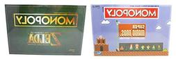 Monopoly Super Mario Bros and The Legend of Zelda Collector'