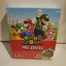 Super Mario Level Up Board Game New Factory Sealed