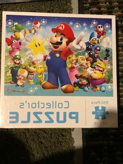Super Mario Party 9 jigsaw collectors puzzle USAOPOLY Brand